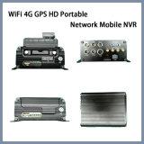 WiFi Mnvr 4G HD GPS портативный сетевой видеорегистратор для мобильных ПК