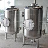 飲料企業、化学工業、製薬産業のための衛生貯蔵タンク