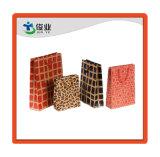 Varios forma bolsa de regalo Papel/bolsa de impresión personalizada
