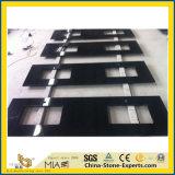 Countertop van de Keuken van het Graniet van de Melkweg van de lage Prijs Zwarte met Goede Kwaliteit
