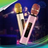 K6 de Draadloze Spreker van de Microfoon van de Karaoke Bluetooth voor de PromotieGiften van het Festival