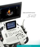 La nouvelle 3D/4D du système d'échographie diagnostique de trolley Sonoscape S40