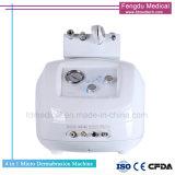 El uso clínico de diamantes de la piel facial Microdermoabrasión la máquina para el SPA