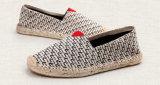 Pisos de la banda Unisex cáñamo zapatos para los jóvenes