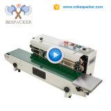 날짜 인쇄 기계를 가진 자동적인 지속적인 부대 밀봉 기계
