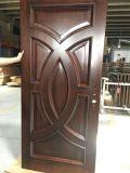 Portello di mogano di legno solido dell'Africa di disegno moderno