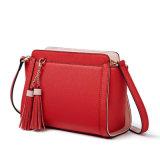 Yc-H249 het Leer van Faux Saffiano van de Kleur van het Contrast van de manier Dame Shoulder Bag