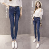 Jeans Slim quente para as mulheres