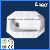 Ceramic Ws Quatting Pan 1 # com S-Trap