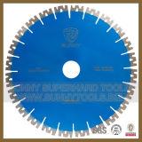 Disco bagnato di taglio di qualità W del diamante eccellente di figura per granito (strumenti pieni di sole 015)
