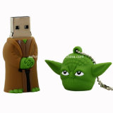 Star Wars desenhos animados pendrive USB Flash Drive USB de PVC do Robô