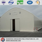 Edifício de aço arqueado para o armazém com experiência profissional