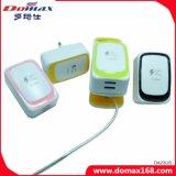 Handy-Zubehör-Gerät Großbritannien2 USB-schnelle Arbeitsweg-Wand-Mikroaufladeeinheit