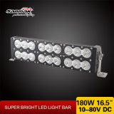 180W Offroad 4X4 de doble hilera de la barra de luz LED multicolor