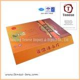 Rectángulo de lujo del acondicionamiento de los alimentos del rectángulo de papel de la cartulina
