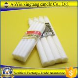 Suministro de la fábrica Aoyin 25g iglesia blanca velas/ barata velas blancas