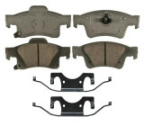 ジープの壮大なチェロキーのための品質のリヤ・ブレーキのパッド68052386AA D1498