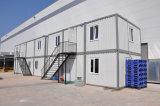 Здания быстрого контейнера конструкции модульные для квартиры работ