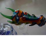 Tubo de agua de cristal del tazón de fuente de cristal de los accesorios del tubo de agua que fuma