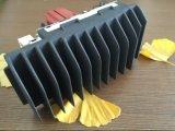 Die Casting surface noire du dissipateur de chaleur en aluminium