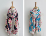 De Mode Linge de coton soie laine Printemps Automne foulard