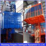 Alzamiento vertical de la construcción de la cabina del doble de la azotea