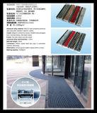 De Mat van de Legering van het Aluminium van de Ingang van het hotel met Opgenomen Tapijt