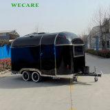 中国の新式の電気移動式食糧トレーラー