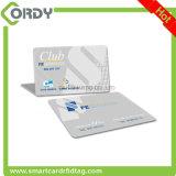 Scheda chiave magnetica personalizzata dell'hotel classico 1k del PVC RFID MIFARE della plastica