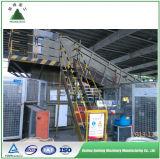 Papier de rebut en aluminium et machine de réutilisation en plastique