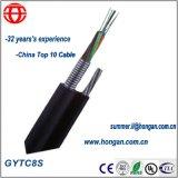 Auto-suporte de alta resistência à tração cabo de fibra óptica