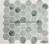 El más reciente tecnología de cuerpo completo de madera del hexágono mosaico de cristal