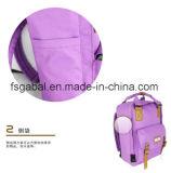 L'élève coréen de lycée de polyester de Ripstop folâtre le sac de sac à dos