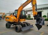 Excavador caliente chino de la rueda de la venta con la ISO del CE