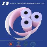 2fache NCR-Papier-Rolle 76mm x 76mm