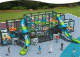 Стена Holla оборудования спортивной площадки Kaiqi совместила скольжения с деятельностями при интересных и Challanging