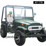 Mejor Venta de Mini Jeep Willys con 150cc, 200cc, 300cc Motor opcional