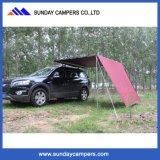 車または手段キャンプ4WD携帯用日曜日の陰及びWatrproof車の屋根の側面の日除け