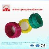 Fio elétrico isolado cobre Calibre de diâmetro de fios do PVC 600V UL1015 12/18/24