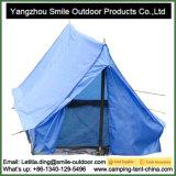 1-2 Promo rígido da pessoa que Backpacking a barraca de acampamento ao ar livre do triângulo