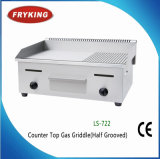 商業ステンレス鋼のカウンタートップの平らな電気グリドル