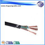 Пвх изоляцией и пламенно/гибкой/разработки/кабель управления