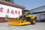 Bulldozer resistente del bulldozer della rotella di Shandtui con un motore di 162 chilowatt