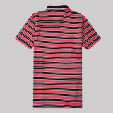 Chine T-shirt Fabricant Stripe 100 Polo en coton pour homme