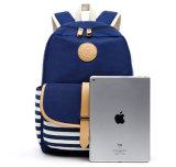 Arbeitsweg-Segeltuch-Schule-Einkaufen-Laptop-Damentote-Kosmetik sackt Unisexrucksack-Funktionsbeutel ein