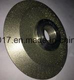 ダイヤモンドの粉砕車輪を形作ることをひく端