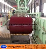 Aço galvanizado Coil/PPGI/PPGL da cor vermelha
