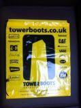 Bolso de lazo gris para el embalaje (FLS-8234)
