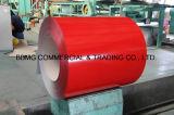 물결 모양 루핑 Dx51d Z30-Z60 0.15mm-2.0mm 금속 물자 PPGI/Gi 색깔은 강철 코일 ASTM Prepainted 강철 코일을 입혔다