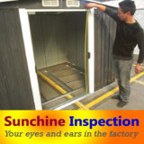 中国の鋼鉄ドアの点検または品質管理または点検サービス